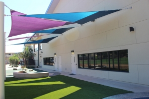 Emmanuel Faith Community Church Shade Sails-1