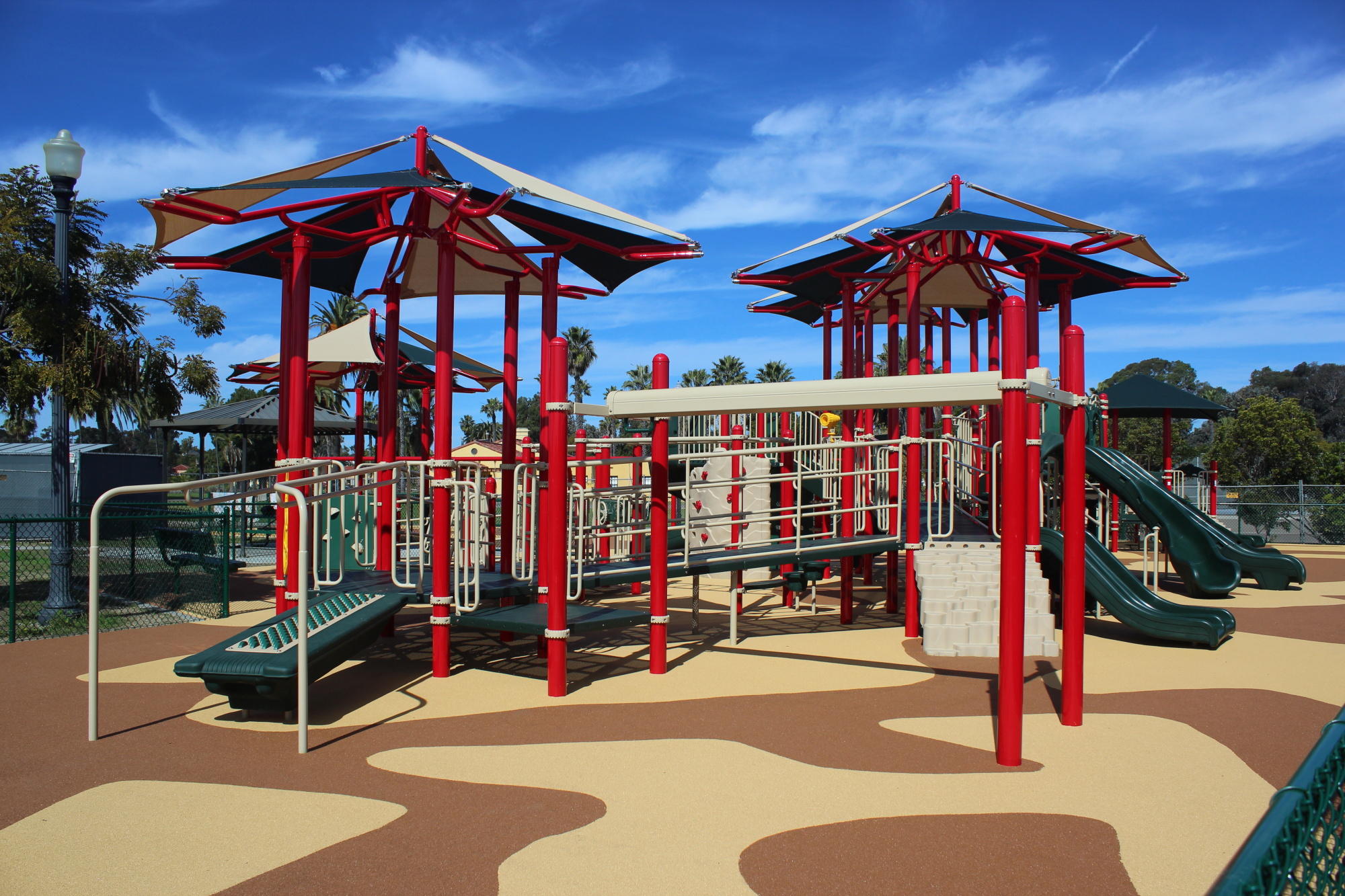 Play Equipment Selection: Powdercoated Steel Play ...