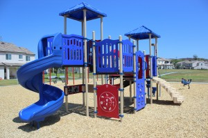 Custom Play Structure At DeLuz Family Housing