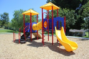 PLaycraft Play Structure At DeLuz Family Housing