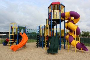 Custom Tower Play Structure Supplied by Pacific Play Systems, Inc., Carlsbad, CA