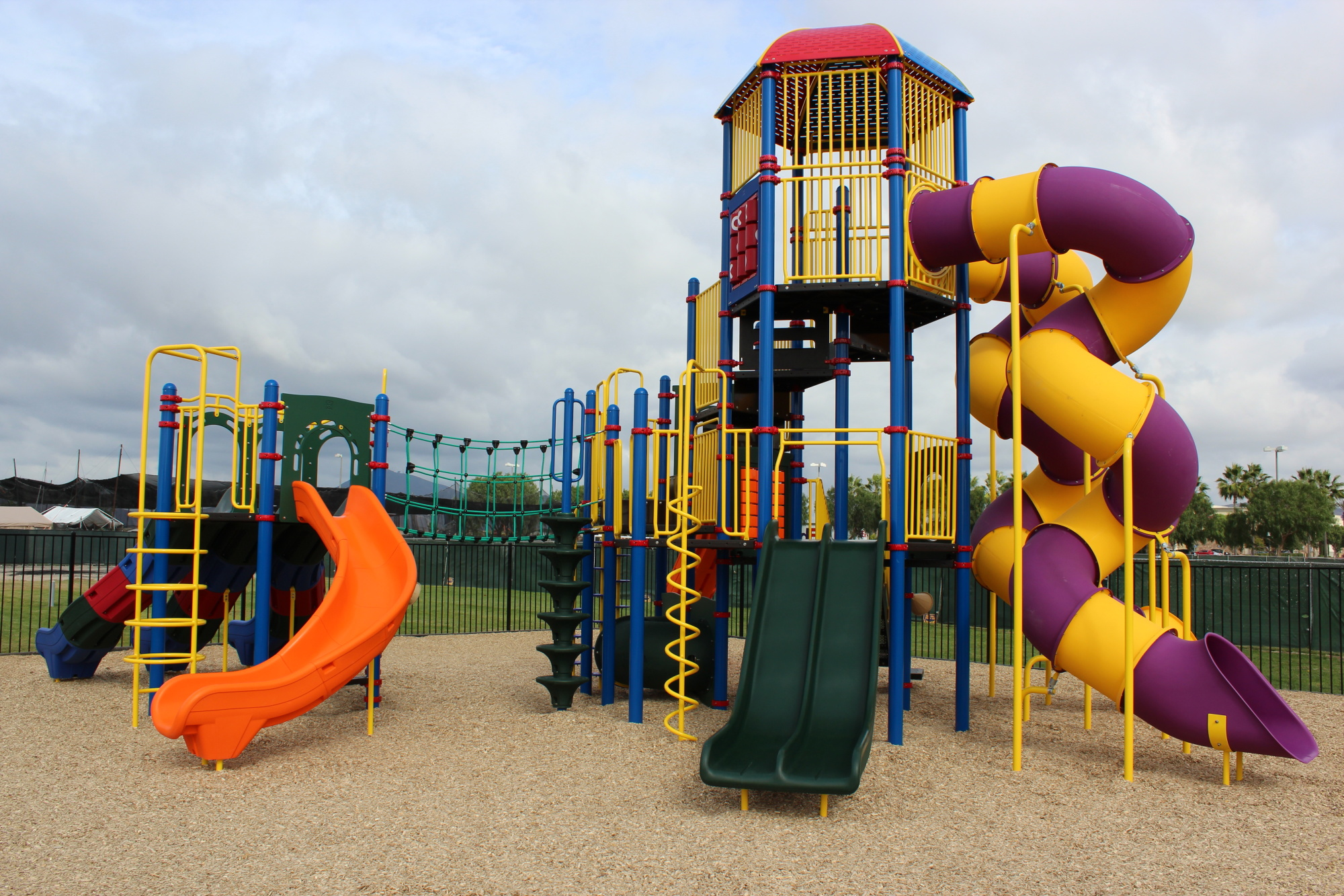 Custom Tower Play Structure Supplied By Pacific Systems Inc Carlsbad CA