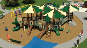 2-5 Age-Group Inclusive Playground at Margarita Community Park in Temecula, CA