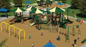 5-8 Age-Group Special Needs Playground at Margarita Community Park in Temecula, CA