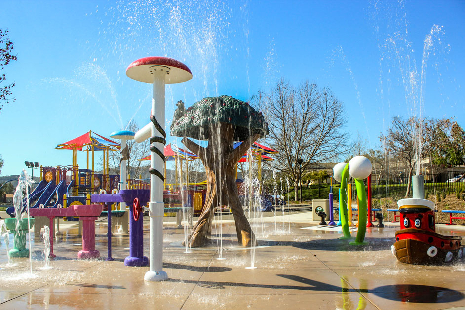 Temecula Splash Pad Project Nearly Completed at City of Temecula Margarita Park