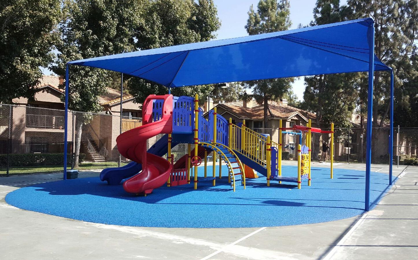 Terracina Apartment Homes' brand-new playground