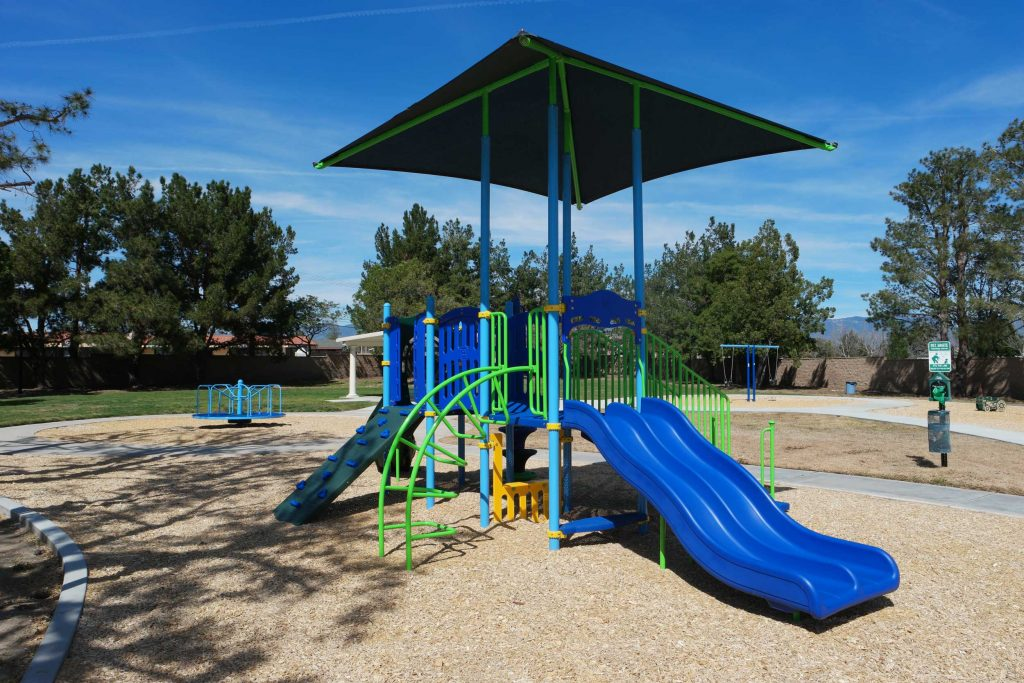 San Bernardino Playground Equipment Project Completed by Pacific Play