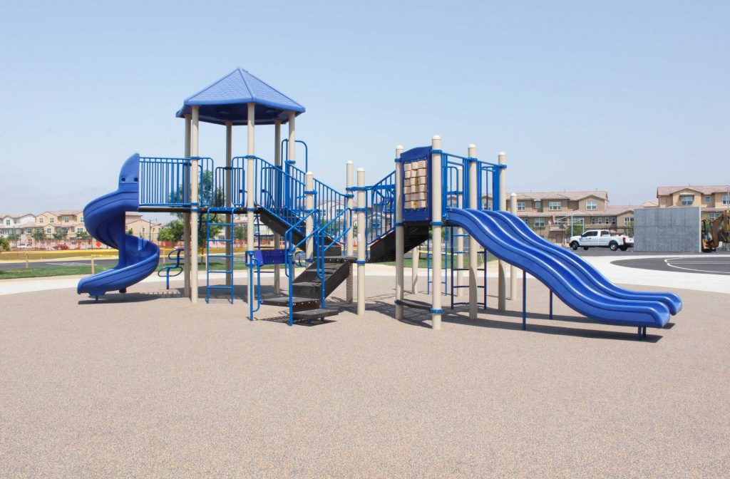 New School Playground Equipment Installed at Saburo Muraoka Elementary
