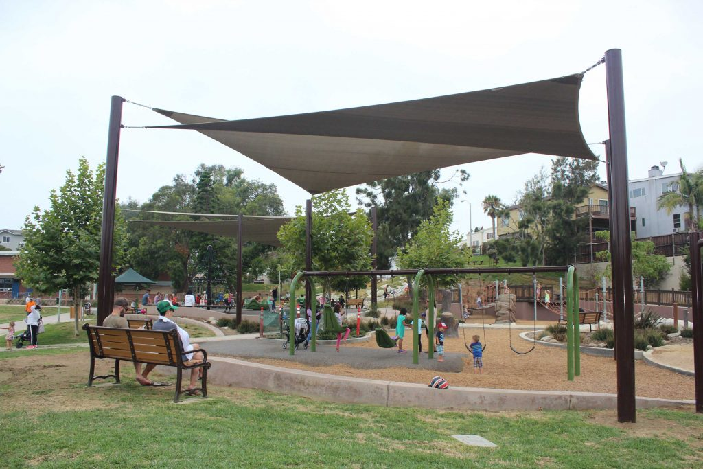 Park Playground Equipment Installed at South Park