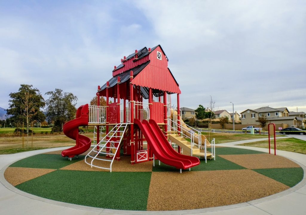 Farm Themed Playground Equipment Installed at The Groves – City of Redlands