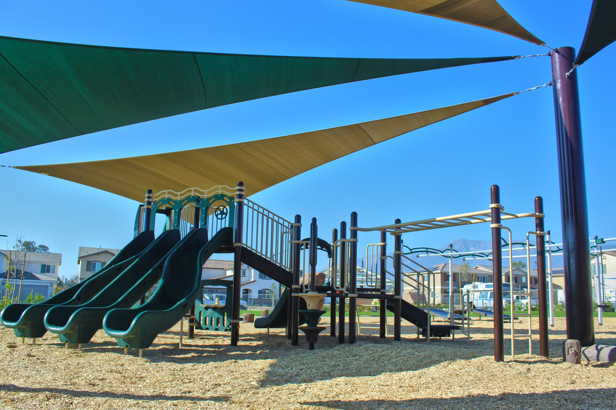 Gabriella Park Playground Project Completed by Pacific Play Systems, Inc.