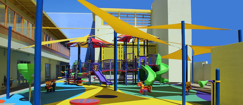 Yeshiva Academy Playground at Los Angeles