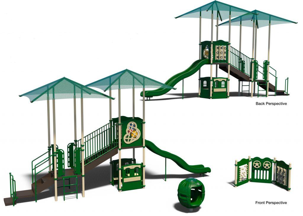 Wilshire Courtyard Playground