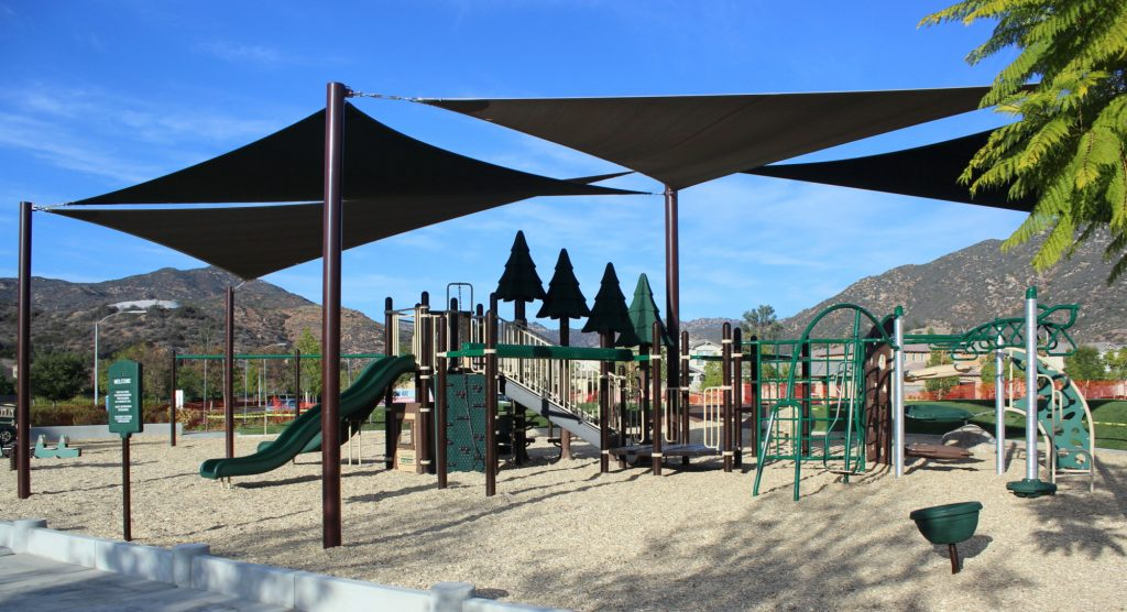 Natural Playground Equipment Project Completed by Pacific Play Systems, Inc. in Escondido, CA